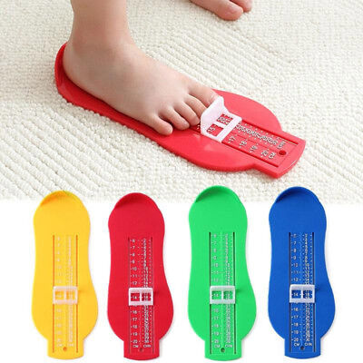 Foot Measuring Device Shoes Gauge Ruler For Child Baby Measure Foot at Home