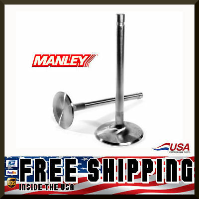 Manley Ford 289 302 351W 1.940 Stainless Intake Valves 4.911 x .3415 11532-8