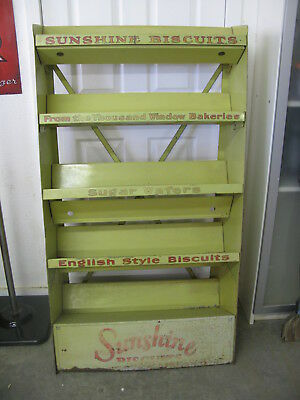 Antique General Store Sunshine Biscuits Display Stand/Rack