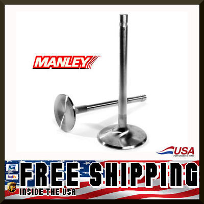 Manley Ford 289 302 351W 1.465 Stainless Exhaust Valves 5.080 x .3415 10723-8