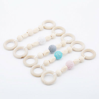 Newborn Toddler Kids Chew Teether Infant Baby Silicone Crochet Teething Toys 6A