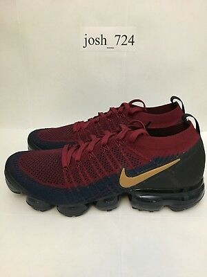 Nike Air Vapormax 2 Flyknit Olympic 942842-604 Size 9.5