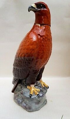 Beswick Golden Eagle Whisky decanter 1969 J G Tongue (empty)