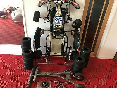 2012 TAL-KO RACING TKM Rolling Chassis with trolley and few spares