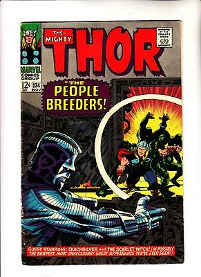 Thor 134 1st app of The High Evolutionary