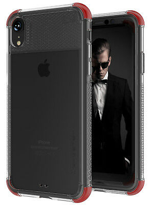 For iPhone XR Case Ghostek COVERT2 Slim Clear Silicone Bumper Protective Cover