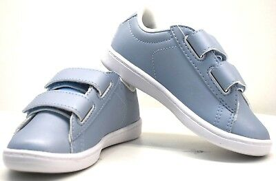 62952609f872a Lacoste Carnaby Evo 317 6 Light Blue Baby Kids US Size 9 FREE SHIPPING  BRAND NEW