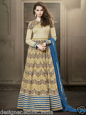 Latest Bollywood Indian Long Readymade Anarkali Suit Womens Party