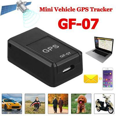 GF07 Magnetic Mini GPS Tracker Voice Control GSM GPRS Real Time Car Tool Device