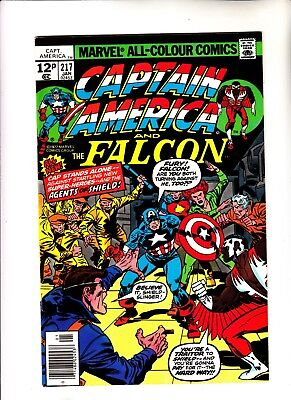 Captain America 217 1st app of Marvel Boy
