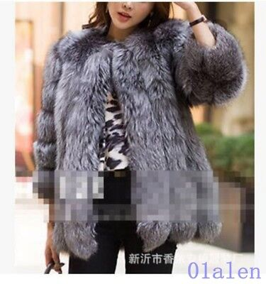 Hot Womens Faux Fur Without Collar Warm Medium Long Coat Commuting Big Size News