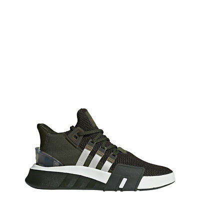 MENS ADIDAS EQT Equipment Bask ADV 91 18 Core Black White Green ... 114d813a2