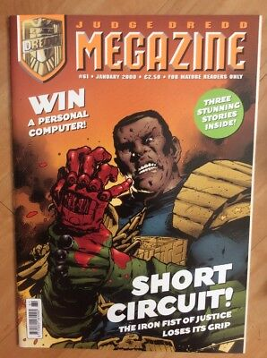 2000 AD Judge Dredd Megazine Volume 3 Issue Numbers 61 - 70 (10 Comic Progs) VGC