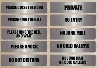 Office Door Name Sign , Please Do Not Knock Sign , Privacy Signs And Plaque