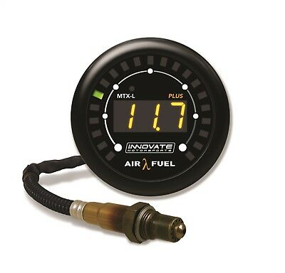 Innovate Motorsports 3918 MTX-L Plus Digital Wideband Air/Fuel Ratio Gauge Kit