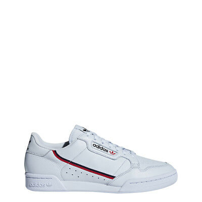 reputable site 4668f a4f7e adidas Mens CONTINENTAL 80 Aero BlueScarletNavy - B41673