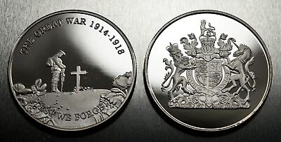 New Commemorative World War 1 Armistice/Remembrance Day Coin Lest We Forget WW1