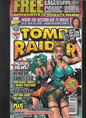 Wizard Tomb Raider Special Edition FACTORY SEALED with Aphrodite IX 0 vf-nm