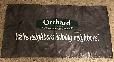 Orchard Supply Hardware Banner RARE Hot Buy 70inches By 30 Inches