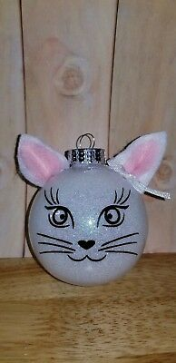 Personalized Kitty Ornament
