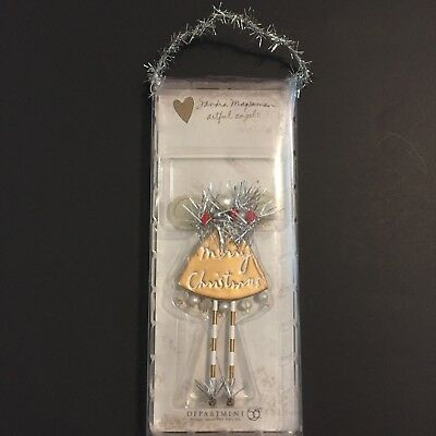 Artful Angels Christmas Ornament Dept 56 Sandra Magsamen 2005 Merry Christmas