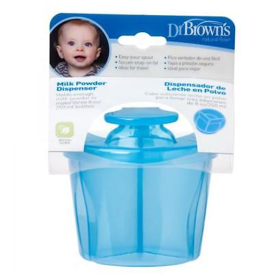 Dr Brown's Infant Easy Travel Storage Baby Milk Powder Dispenser Container Pot