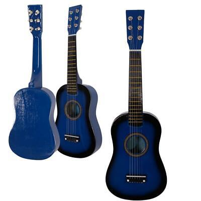 """Back to school 23"""" Inch Kids Wooden Acoustic Guitar Musical Instrument Child"""