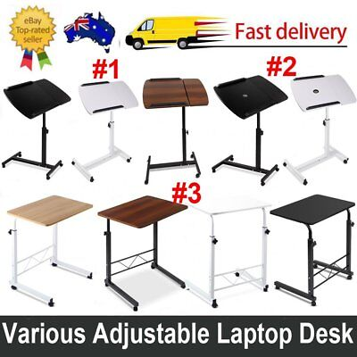 Various Adjustable Desk Rotating Mobile Laptop Tray Computer Table Cooler Fan