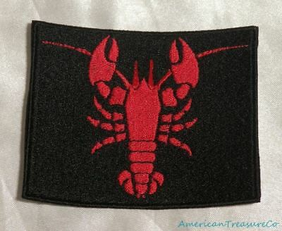 NEW SEW OR  IRON ON PATCH APPLIQUE LOBSTER  379