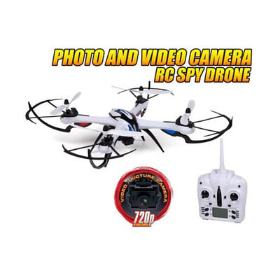 NEW!!! Prowler Spy Drone Video Camera & Photo 2.4GHz RC Quadcopter