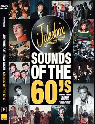 JUKEBOX SATURDAY NIGHT SOUNDS OF THE 60's DVD ~ EASYBEATS~KINKS~YARDBIRDS +*NEW*