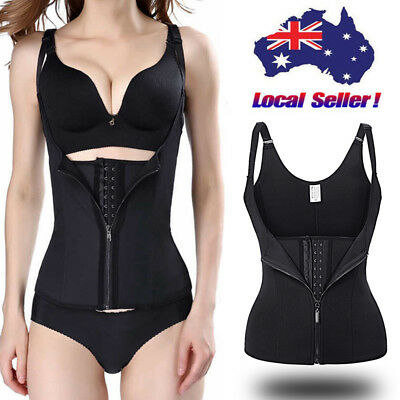 Waist Trainer Vest Workout Cincher Body Slimmer Shaper For Weight Loss Shapewear