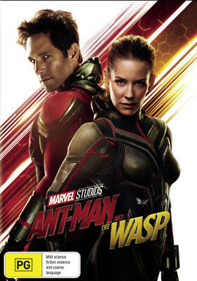 Ant-Man and the Wasp  - DVD - NEW Region 4