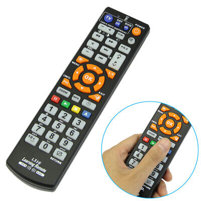 Universal Smart Remote Control Controller w/ Learn Function For TV CBL DVD SAT
