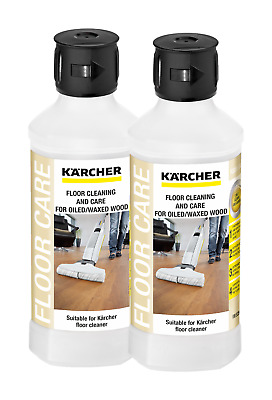 Karcher FC 5 - RM 535 Oil/Waxed Wood Floor Cleaner - 2 x 500 ml - 62959420