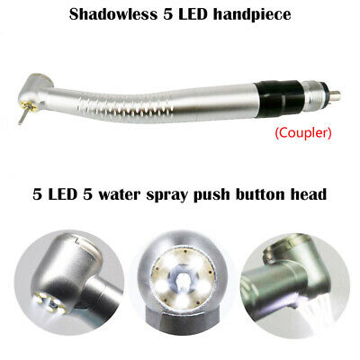 W&H Style TK-98L Ring 5LED E Generator Dental High Speed Handpiece 4Hole Coupler