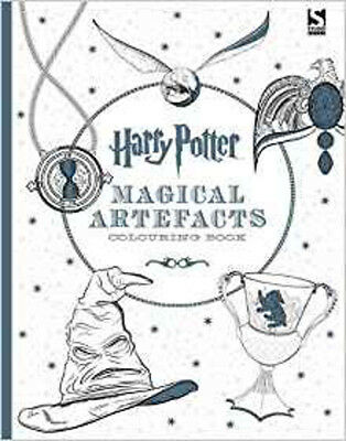 Harry Potter Magical Artefacts Colouring Book 4., New, Warner Brothers Book