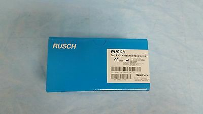Rusch (123330) Soft PVC Nasopharyngeal Airway, 30 Fr, Box of 10, Expires 3-18