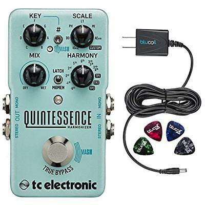 TC Electronic Instrument Accessories Quintessence Harmonizer Pedal -INCLUDES- 9V