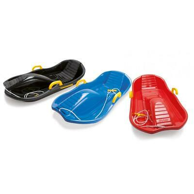 Deluxe Sled with Brakes RED Winter Snow Fun Sledge By Dantoy 6765 Handle Rope