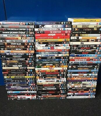 100 DVD Wholesale Job Lot Resell Carboot Market Trader Kids Action Comedy Boxset