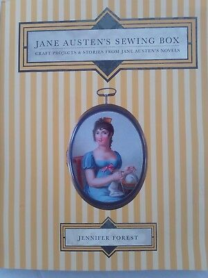 Jane Austen's Sewing Book; projects from the novels. craft, sewing projects.2009