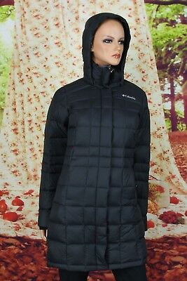 539af2500fb COLUMBIA WOMENS HEXBREAKER Long Down Hooded Jacket sizes S XL Hooded ...