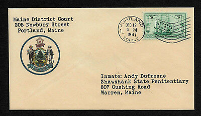 The Shawshank Redemption Collector's Envelope Addressed to Andy Dufresne *OP1064
