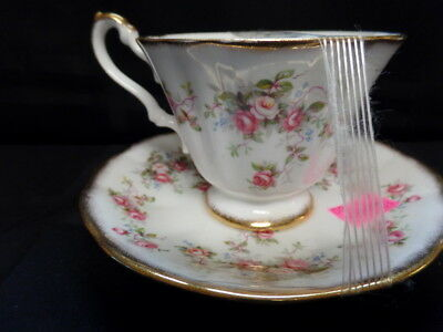 Cup and Saucer Fine Bone China made in England Pattern name ROSINA