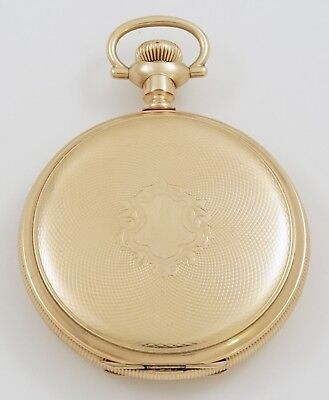 E Howard & Co Pocket Watch, Made by Waltham, 19 Jewels, 16 Size - rf35042