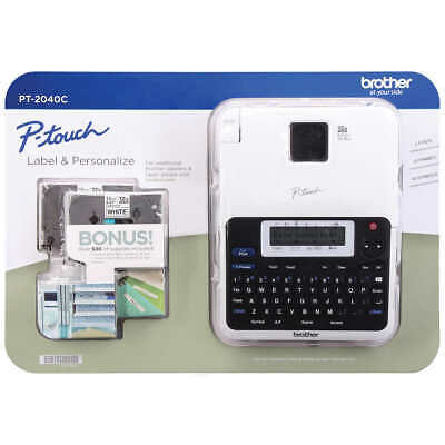 Brother P-touch PT-1890C Thermal Machine Label Maker + Bundle *NEW* Free Ship!!!
