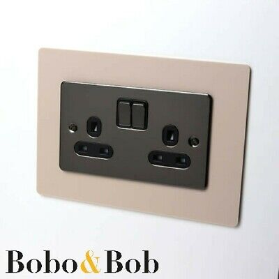 Light Switch Surround, Socket, Plug, Single Double, Finger Plate, Wall Protector