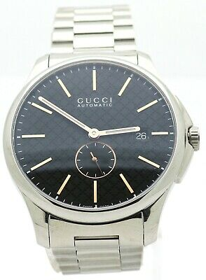 4754f99a3cd NEW Display Model Gucci G-Timeless Automatic 40mm Stainless Men s Watch  YA126312