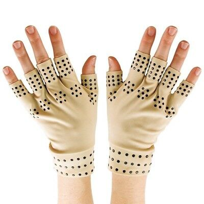 Gants de therapie magnetiques Compression La circulation de l'arthrite favo X2H8
